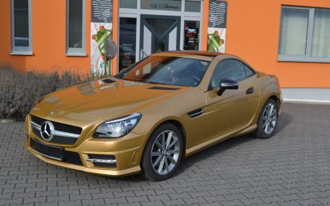 Mercedes SLK - Gold Metallic