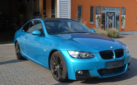 BMW 3er Coupe - Atomic Teal