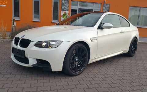 BMW M3 - Satin Pearl White