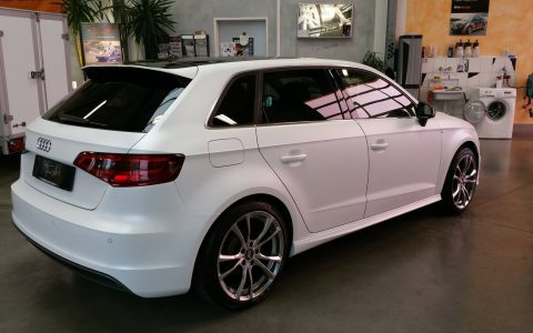 Audi A3 - Matt Crystalline White