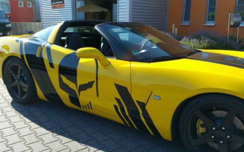 Corvette - Designfolierung