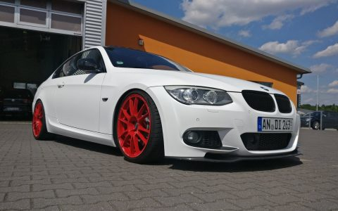 BMW 3er Coupe - Matt Crystalline White