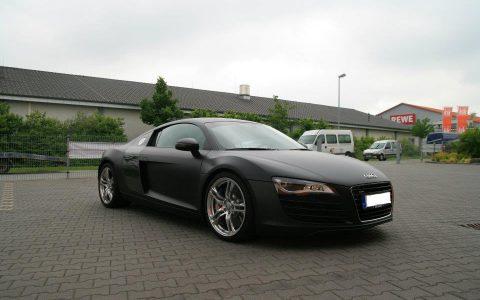 Audi R8 - Schwarz Matt