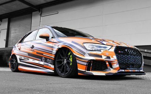 Audi RS3 - Digitaldruckvollfolierung