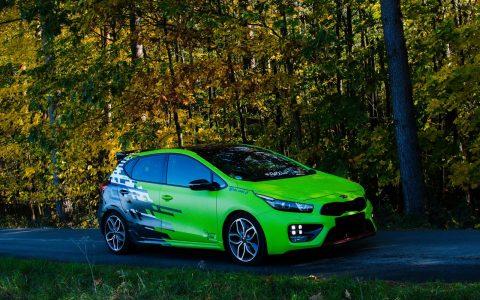 Kia Ceed GT - Designfolierung